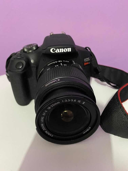 Câmera Canon +kit De Lente