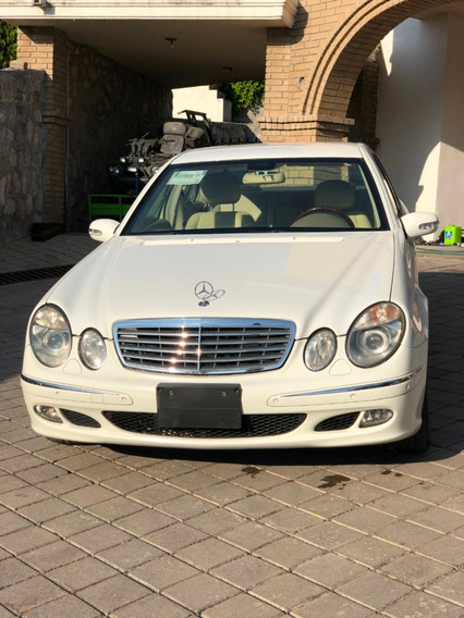 Mercedes E500 Blindado B/4 De Agencia