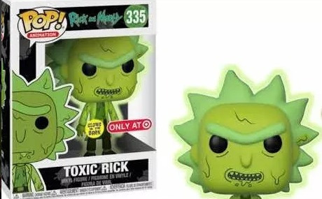 Funko Pop! Rick And Morty Toxic Rick