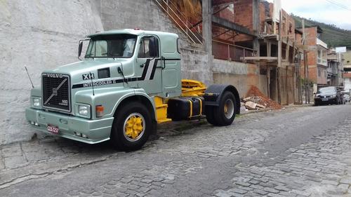 Caminhão Trator .volvo N10 Intercooler Ano 1987 300 Cv