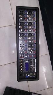 Mixer Amplificado Smt De 8 De 1200w