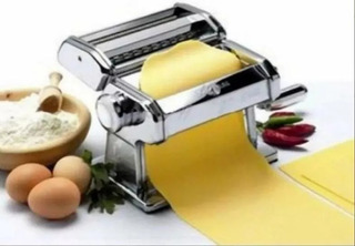 Maquina Para Hacer Pastas Fideos-estira Masa- Winco 180 Mm