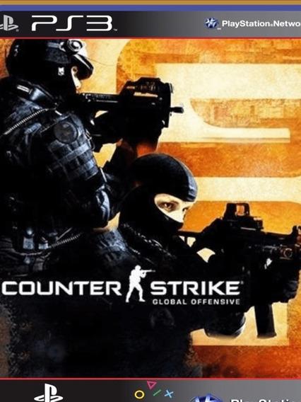 Ps3 Counter Strike Cs Go Global Offensive - Mídia Digital