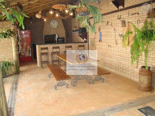 Casa Com 4 Dormitórios À Venda, 306 M² Por R$ 1.190.000,00 - Betel - Paulínia/sp - Ca0319