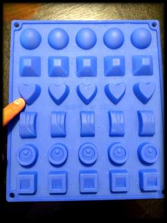 Molde Silicona Chocolates Gomitas Dulces.