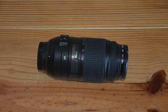 Lente Nikon Af-s Dx Nikkor 55-300mm F/4.5-5.6g Ed Vr+filtro