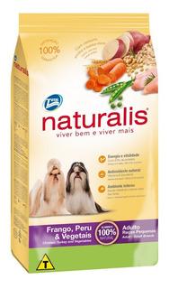 Concentrado Para Perro Naturalis Adultos Raza Pequeña Pollo