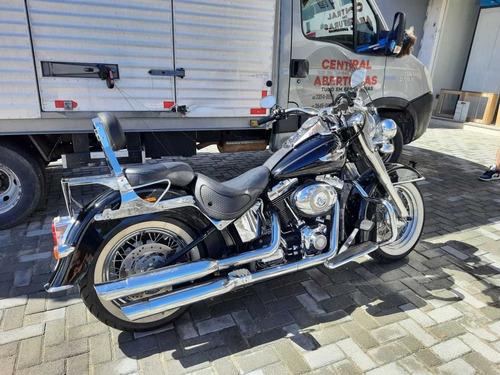 Imagem 1 de 9 de Harley Davidson Softail Deluxe