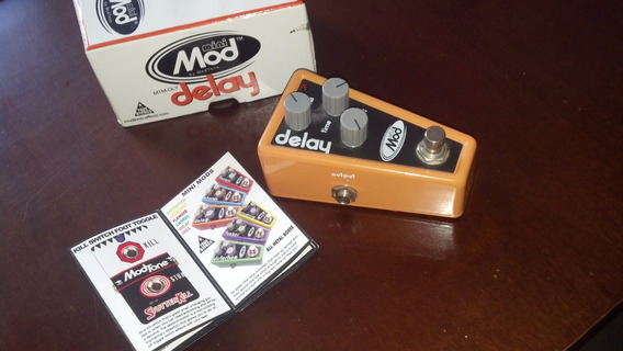 Delay Pedal - Modtone - Mini Mod (mtm-dly). True By Pass