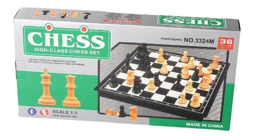 Imagen 1 de 2 de Juegos De Mesa Ajedrez Juegos Clasicos Ajedrez Profesional