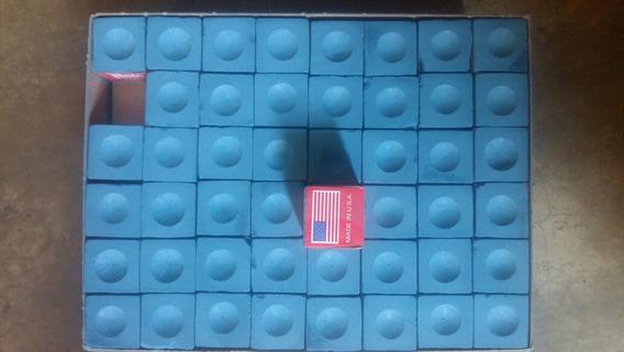 Tizas O Azulillo Para Tacos De Pool Marca Máster Chalk