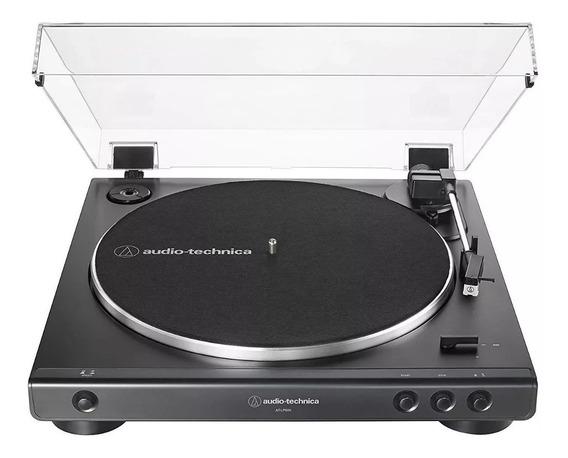 Toca Disco Audio Technica Lp 60x Automático Bivolt Preto