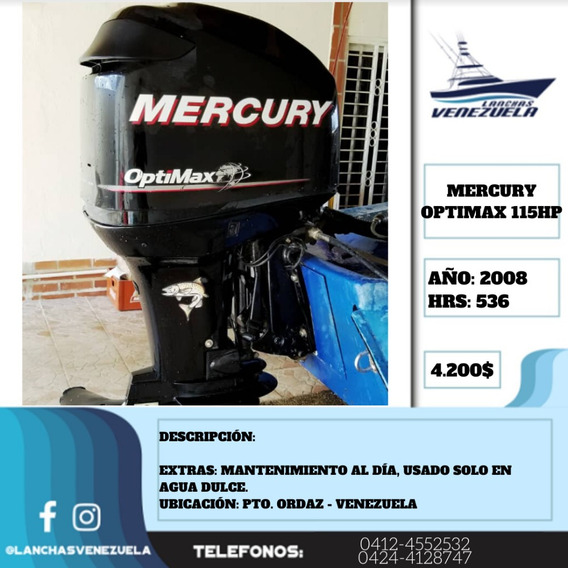 Motor Mercury Optimax 115hp Lv441