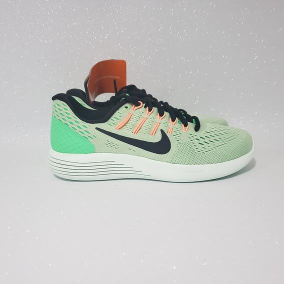 Tênis Nike Lunarglide 8 De Corrida Vrd Tam 34 Pronta Entreg
