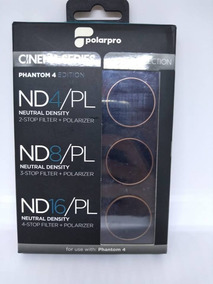Dji Phantom 4 Polar Pro Vivid Kit 3 Filters Cinema Series Sp