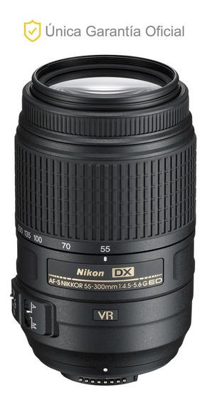 Lente Nikon 55-300mm F/4.5-5.6g Ed Vr Af-s Dx