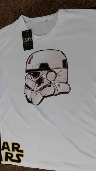 Playera Sublimada Stormtrooper Espalda Y Pecho