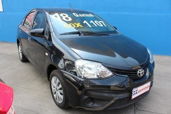 Toyota Etios Sedan X 1.5 Automatico Sem Entrada Oportunidade