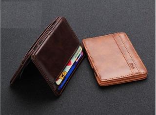 Carteira Magica Porta Cartão E Cédulas