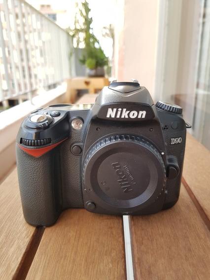 Camera Nikon D90 (apenas Corpo) Usada, Em Perfeito Estado
