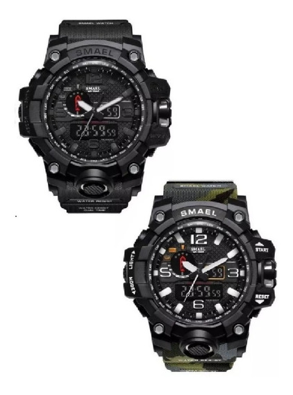 Relógio Militar Smael 1545 À Prova D
