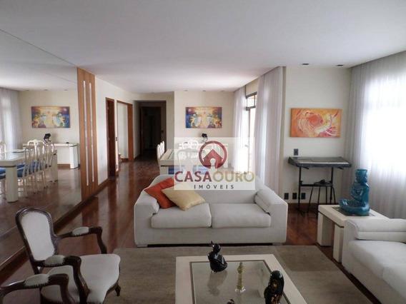 Apartamento Com 4 Quartos À Venda, 240 M² Por R$ 2.850.000 - Funcionários - Belo Horizonte/mg - Ap0905