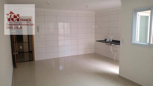 Apto Com 3 Dormitórios, 70 M² - Venda Por R$ 440.000 Ou Aluguel Por R$ 2.500/mês - Vila Eldízia - Santo André/sp - Ap2295