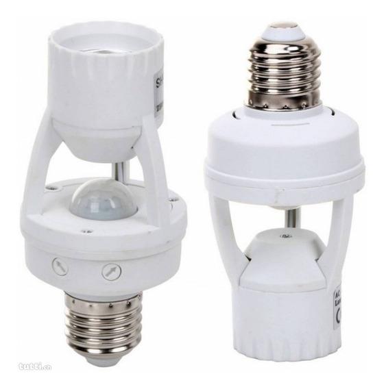 Kit 8 Soquete Bocal Lampada Sensor Movimento Presença E27