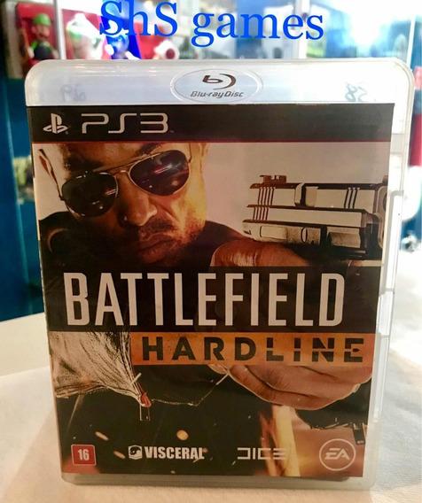 Battlefield Hardline Ps3 Mídia Física
