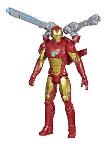 Imagem 1 de 5 de Boneco Homem De Ferro Blast Gear Avengers - Hasbro E7380