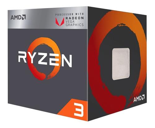 Imagen 1 de 6 de Procesador Amd Ryzen 3 Socket Am4 Turbo 3.7ghz 4 Cores Zen Graficos Vega 8
