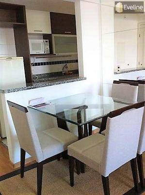 Flat Com 1 Dorm, Parque Monte Líbano, Mogi Das Cruzes - R$ 230.000,00, 46m² - Codigo: 274 - A274