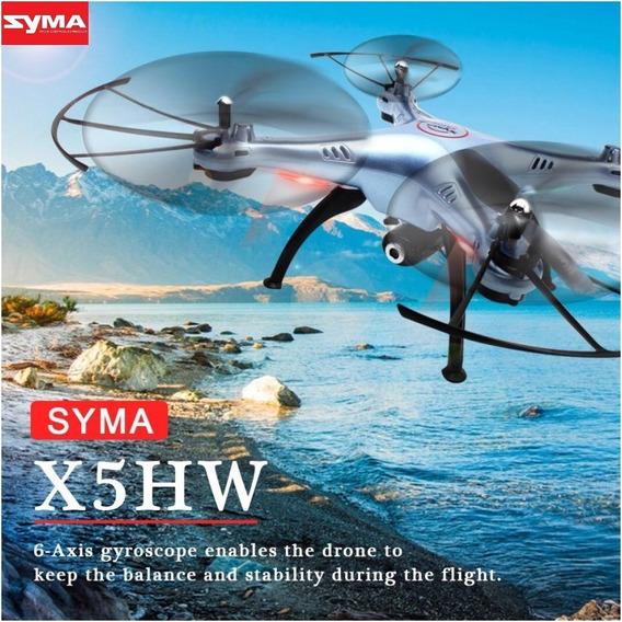 Drone Syma X5hw Original X5hw Azul + Caixa Original + Brinde
