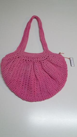 Cartera Artesanal Crochet-accesorio Infaltable: Regalá & Te