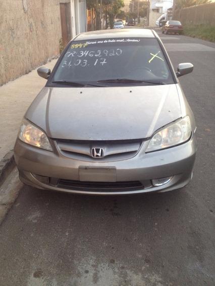 Sucata Desmontada - Honda Civic 1.7 2004 - 2006