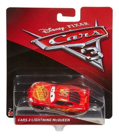 Cars 3 Disney Pixar El Rayo Lightning Mcqueen De Mattel.