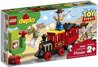 Todobloques Lego 10894 Duplo Tren De Toy Story Woody Y Buzz