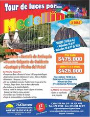 Tour De Luces Navideñas Por Medellin 2018 Supercompleto