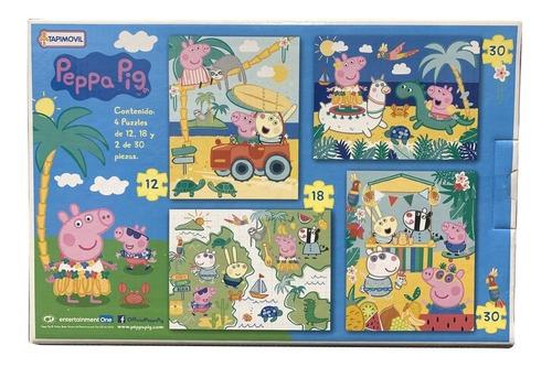 Rompecabezas 4 En 1 Peppa Pig Art 06353 Loonytoys