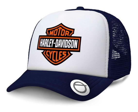 Harley Davidson Estilo Gorra Trucker Race