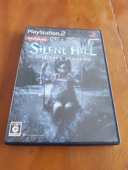 Silent Hill Shattered Memories Ps2 Japones Original