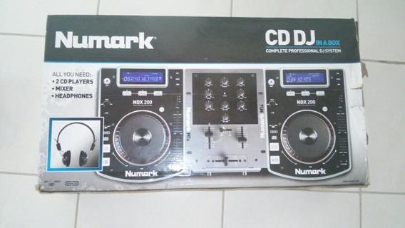 Controladora De Cd Dj Numark Ndx 200