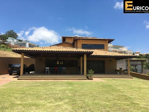 Casa Para Locação No Condomínio Fechado Hipica I - Vinhedo - Sp. - Ca02108 - 34782733