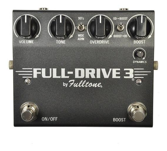 Fulltone Full-drive 3 Overdrive Boost C/ Nf-e Garantia
