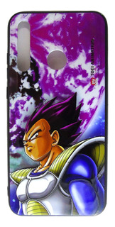 Carcasa Dragon Ball Z Vegeta Face Huawei P Smart 2019