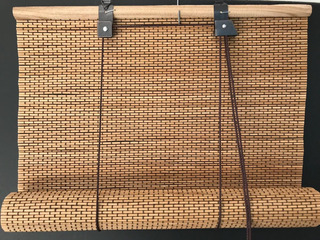 Cortina De Bambu Esterilla Enrrollar Mimbre 70 X 2