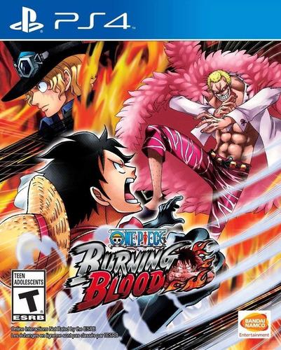 One Piece Burning Blood Juego Ps4 Original Español+ Garantía