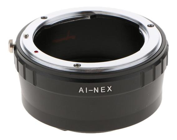 Adaptador Ai - Nex Para Nikon Ai F Lente Para Sony E Montage