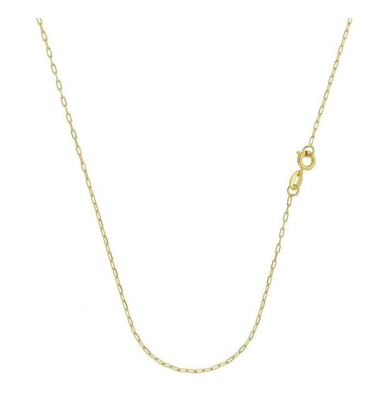 Cordão Cartier 40 Cm Folheado A Ouro 18k