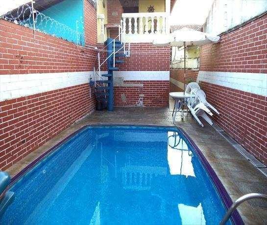 Casa Em Mirim, Praia Grande/sp De 90m² 4 Quartos À Venda Por R$ 400.000,00 - Ca341221